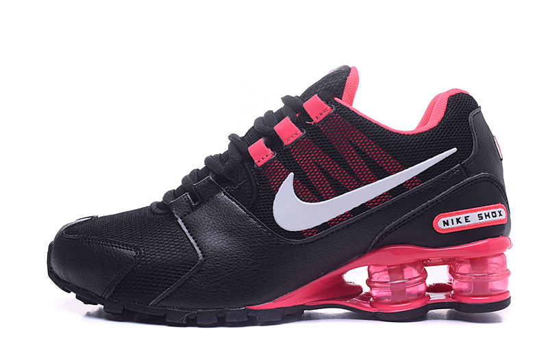 Nike Shox Avenue 802 H110 Women Shoes Black Red White